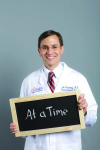 Eric Rosenberg, M.D., is the physician director of quality for the department of medicine.